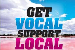 LOCAL: By shopping locally you can help create and nurture local businesses so they can thrive, create more jobs and foster a prosperous community. PIC. Contributed.
