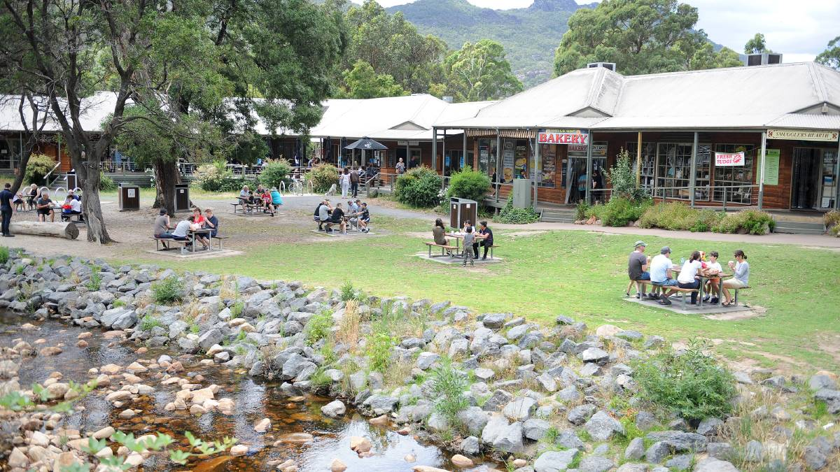 COMMUNITY SPACE: Halls Gap will have a new community pop-up space along Grampians Road. Picture: FILE