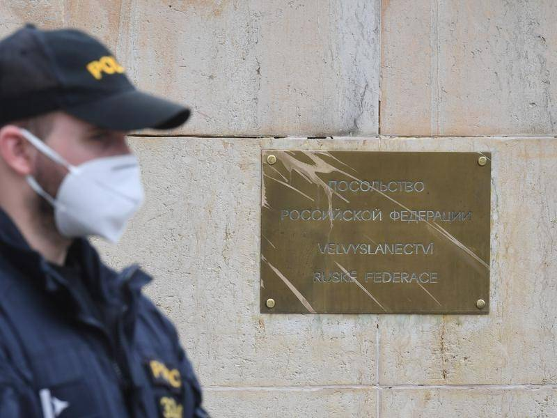 The Czech Republic had earlier expelled 18 members of the Russian embassy staff in Prague.