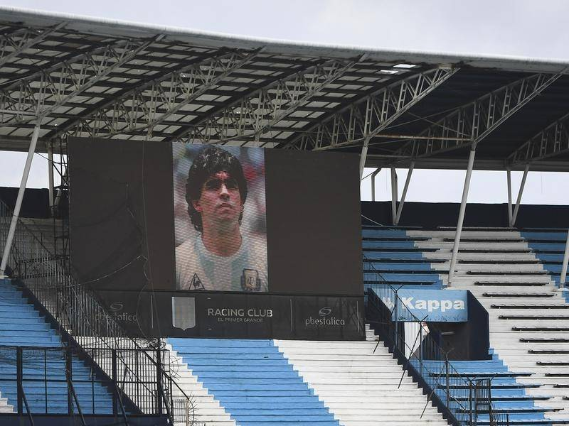 As stadium tributes continue for Diego Maradona, justice officials are investigating his death.
